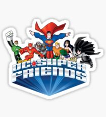 Super Friends Hero Sticker