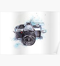 Minolta camera Poster