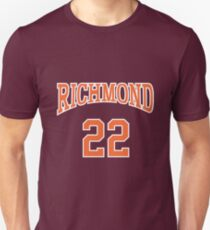 Timo Cruz 22 Richmond Oilers Home Basketball Shirt  Unisex T-Shirt