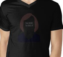 Anton Chigurh - You need to call it (No country for old men) Mens V-Neck T-Shirt