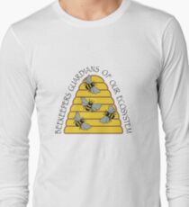 Beekeepers, Guardians of our Ecosystem Long Sleeve T-Shirt