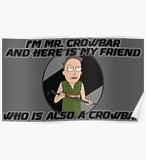 Jerry Is Mr Crowbar Poster