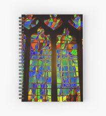 Cuaderno de espiral Technicolour Stained Glass