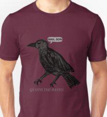 Camiseta unisex quoth the raven