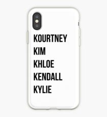 Kardashians iPhone Case