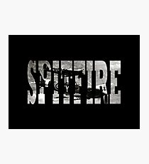 Spitfire Photographic Print