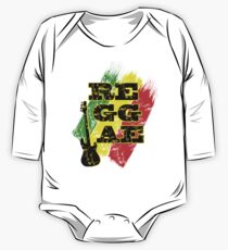 reggae, guitar One Piece - Long Sleeve