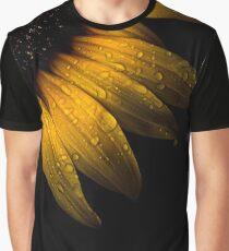 Backyard Flowers 28 Sunflower Graphic T-Shirt