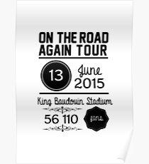 13th June - King Baudouin Stadium OTRA Poster