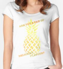 Are you a fan of delicious flavour? Women's Fitted Scoop T-Shirt