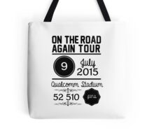 9th July - Qualcomm Stadium OTRA Tote Bag