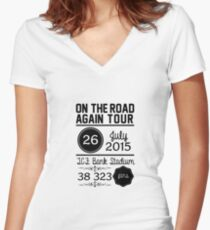 26th July - TCF Bank Stadium OTRA Fitted V-Neck T-Shirt