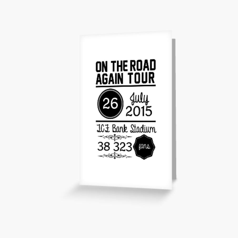 26th July - TCF Bank Stadium OTRA Greeting Card