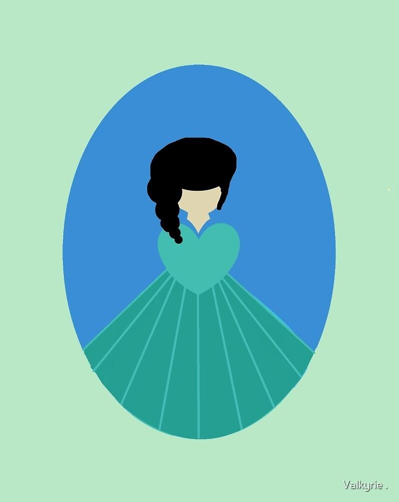 Simplistic Princess #3 by Valkyrie .