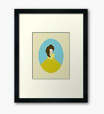 Simplistic Princess #4 Framed Print
