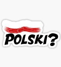Polski? Sticker
