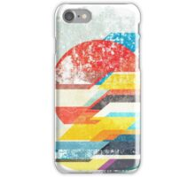 Digital Sun Horizon  iPhone Case/Skin
