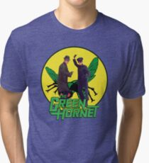Funny Green Hornet Tri-blend T-Shirt