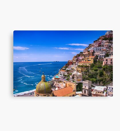Love Of Poistano Italy Canvas Print