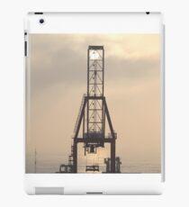 Container Crane iPad Case/Skin