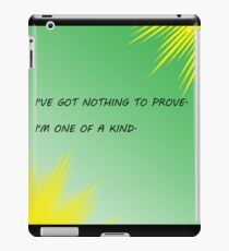 Young Justice Artemis quote iPad Case/Skin