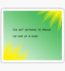 Young Justice Artemis quote Sticker