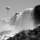 Hot Air Balloon Ride Over Niagara Falls by Elizabeth  Lilja