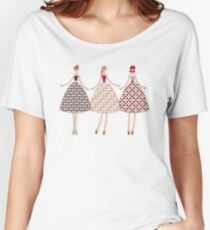 Retro Models Women's Relaxed Fit T-Shirt