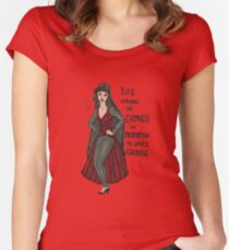 Anais Nin Women's Fitted Scoop T-Shirt