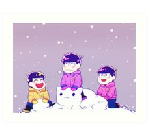 Winter matsus Art Print