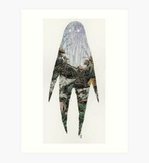 Spirit Silhouette  Art Print