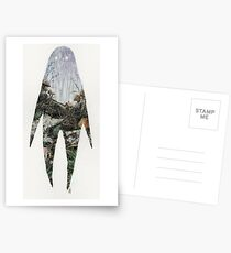Spirit Silhouette  Postcards