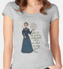 Marie Curie Women's Fitted Scoop T-Shirt