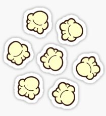 Popcorn Pattern Sticker