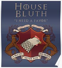 House Bluth, I Need a Favor Poster