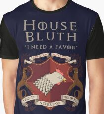 House Bluth, I Need a Favor Graphic T-Shirt