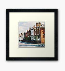 Stratford-upon-Avon Houses Framed Print