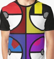 Pokeball minimalist Graphic T-Shirt
