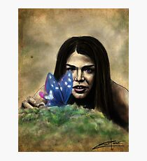 Octavia and the Butterfly (full color) Photographic Print