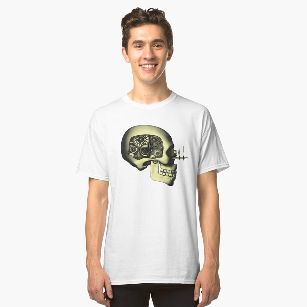 Vintage Steampunk Automaton Skull #1 Classic T-Shirt
