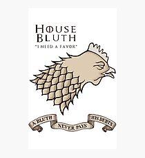 Bluth Chicken Photographic Print