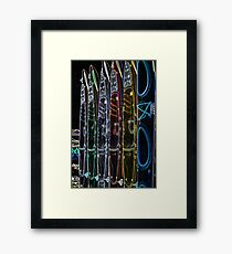 """Special Effects Kayaks """"Cool"""" Framed Print"""