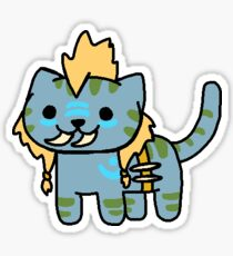 Neko Atsume Feral Druid 5 Sticker
