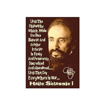 Haile Selassie Quote by TenThirty