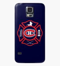 Securite Incendie de Montreal - Canadiens style Case/Skin for Samsung Galaxy