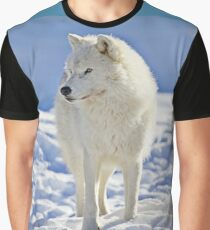Arctic Wolf (Click and see large!) Graphic T-Shirt
