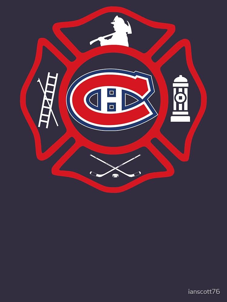 Securite Incendie de Montreal - Canadiens style by ianscott76