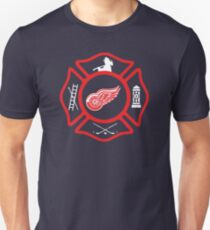 Detroit Fire - Red Wings style T-Shirt