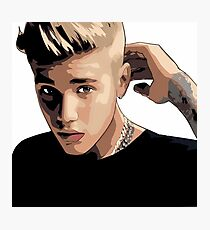 Justin Beiber Photographic Print