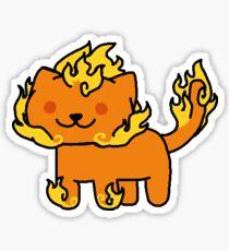 Neko Atsume Feral Druid 21 Sticker
